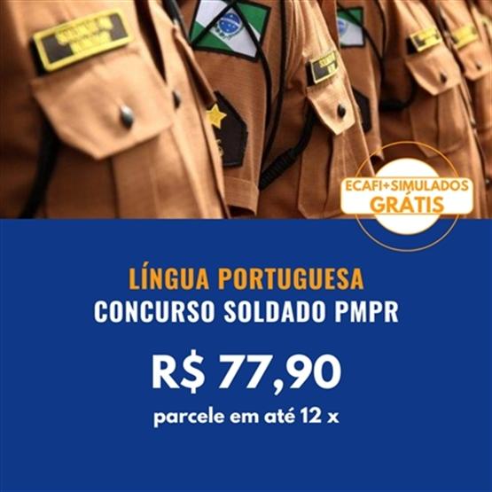 LÍNGUA PORTUGUESA SOLDADO PMPR