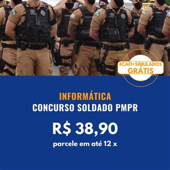 INFORMÁTICA SOLDADO PMPR